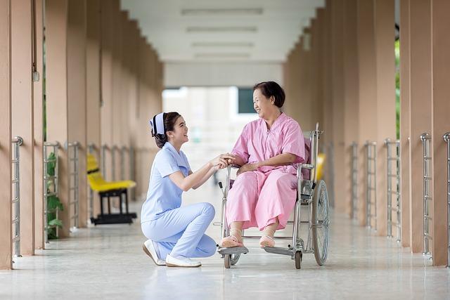sestra u pacientky