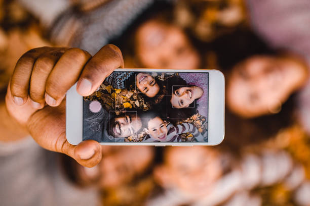 selfie rodiny