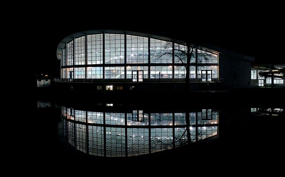 sportovní hala v Budějcích